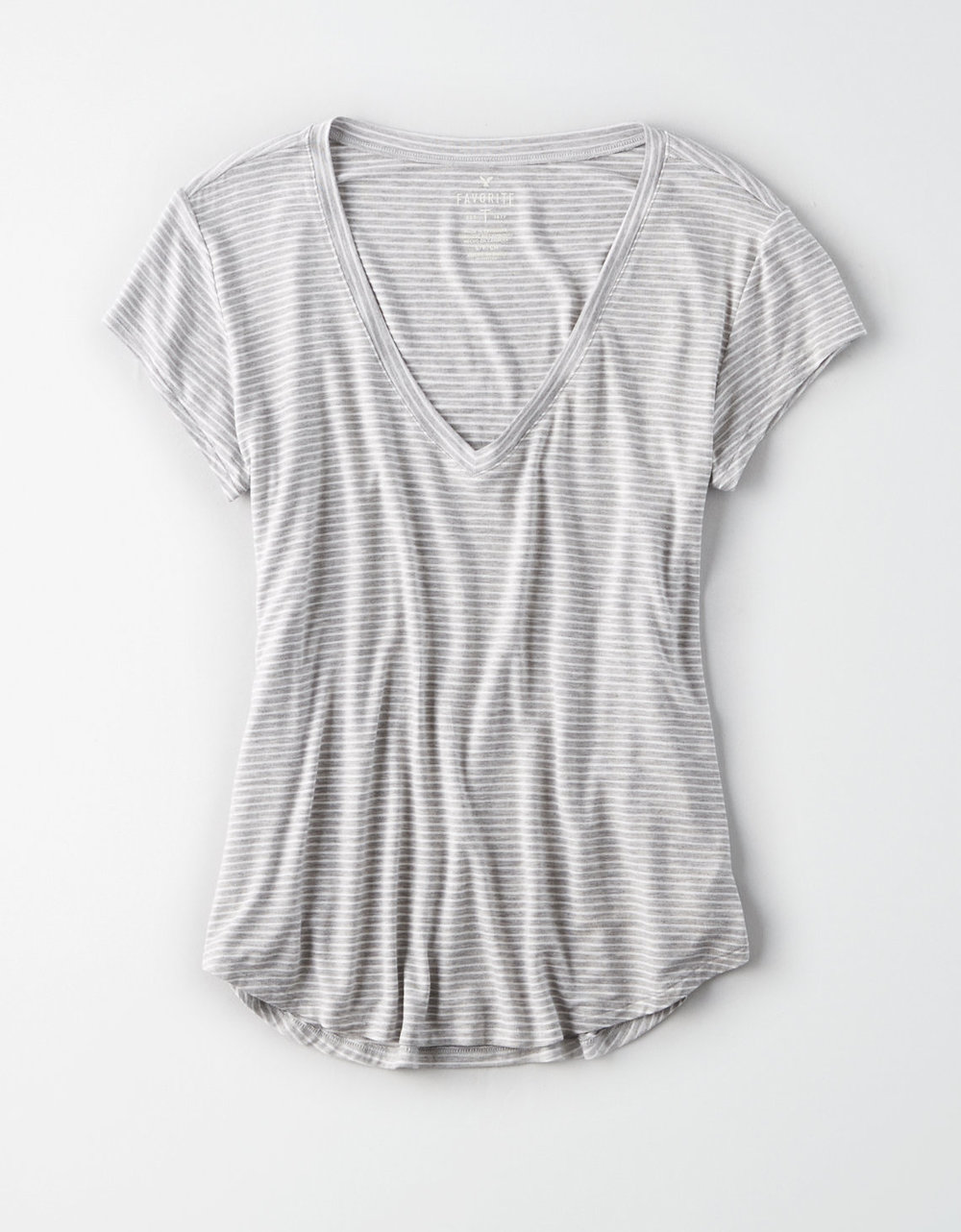 AE SOFT & SEXY STRIPED TEE $19.99
