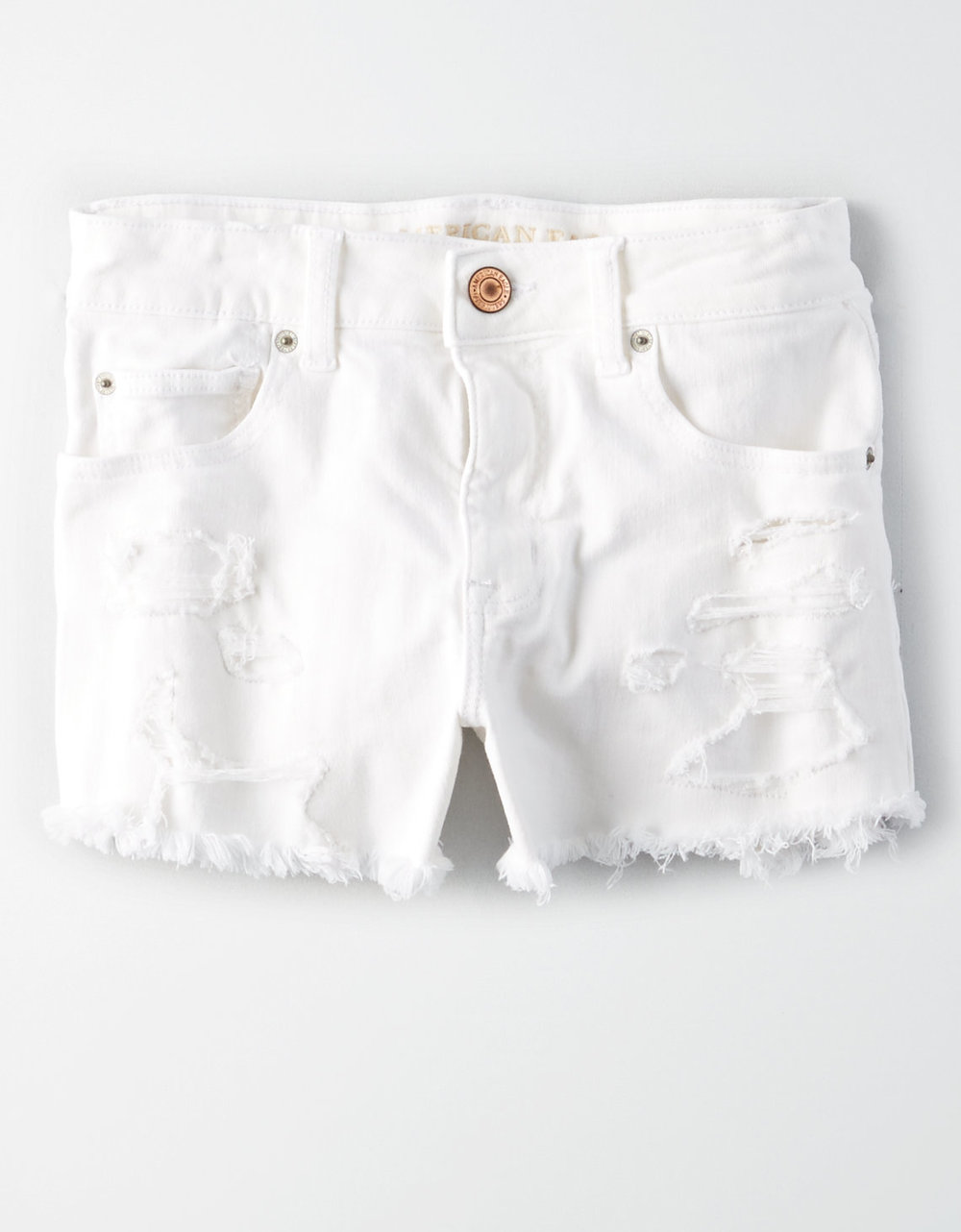 AE DENIM X HIGH-WAISTED SHORT SHORT $44.95
