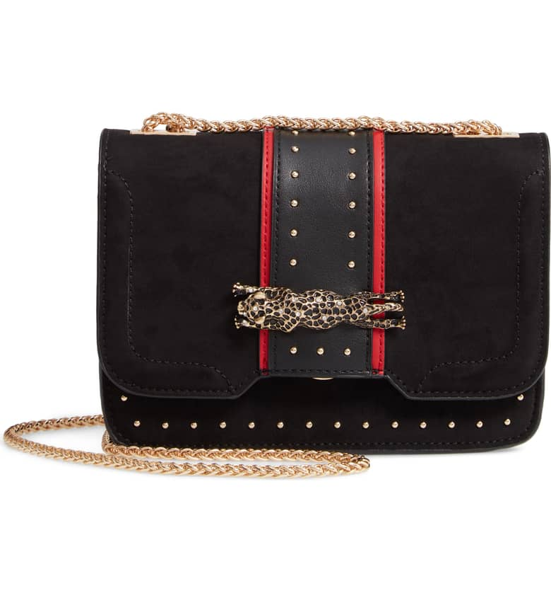TOPSHOP Panther Crossbody Bag $48