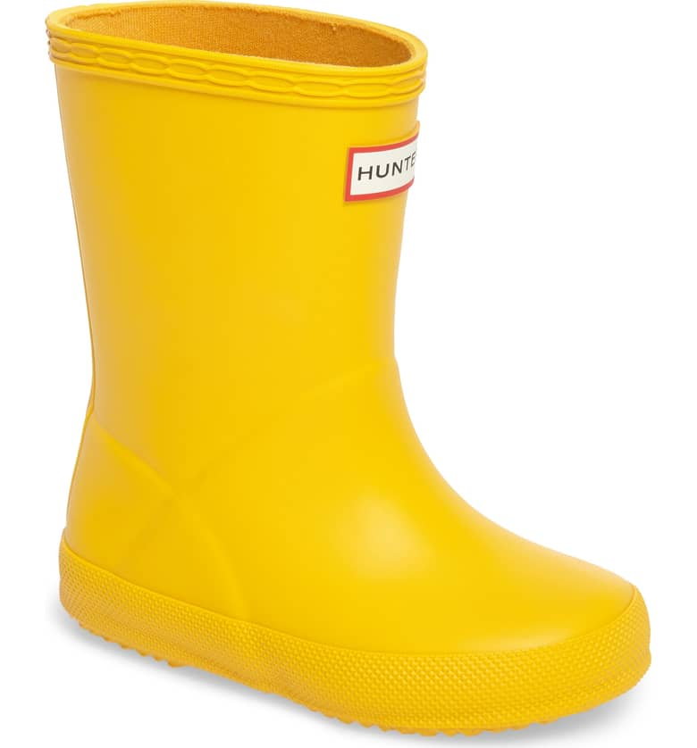 Hunter First Classic Rain Boot