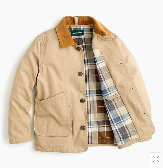 J.Crew Boys' Barn Jacket