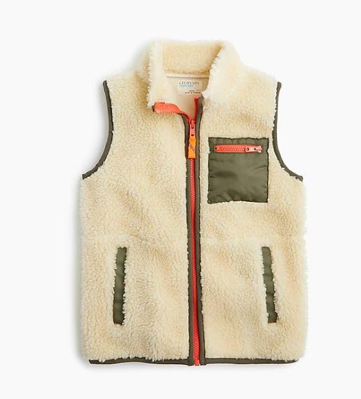 J.Crew Kids' Sherpa Vest