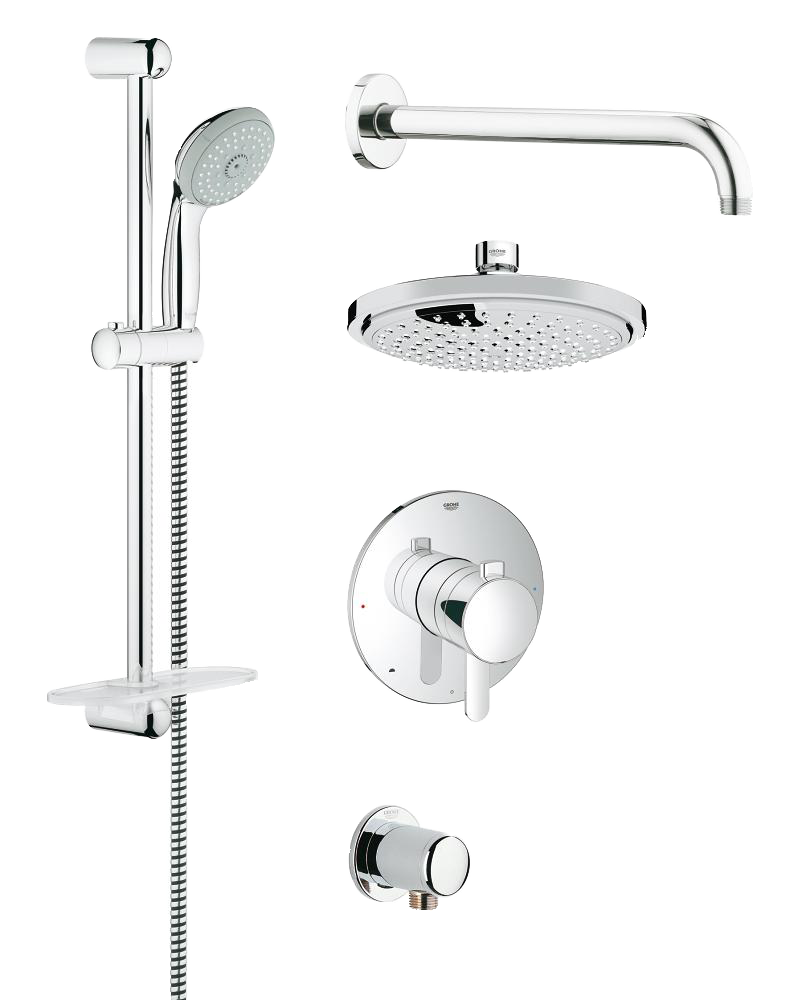 Grohe Starlight Chrome Shower System