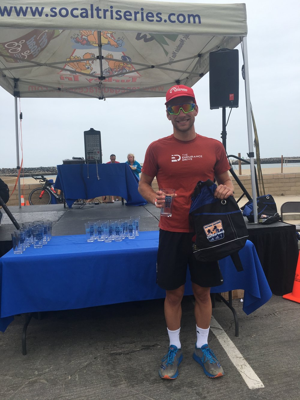 Eliot Scymanski - 1st place overall - Ventura Breath of Life Olympic Triathlon - 2018 - Ventura, CA