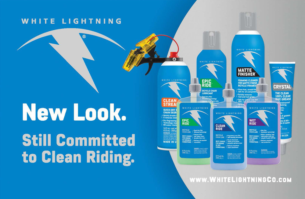 White Lightning Re-brand and Advertising
