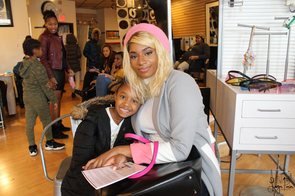 Mom and daughter spend quality time at the   She Isn't Even That Pretty   book signing event.