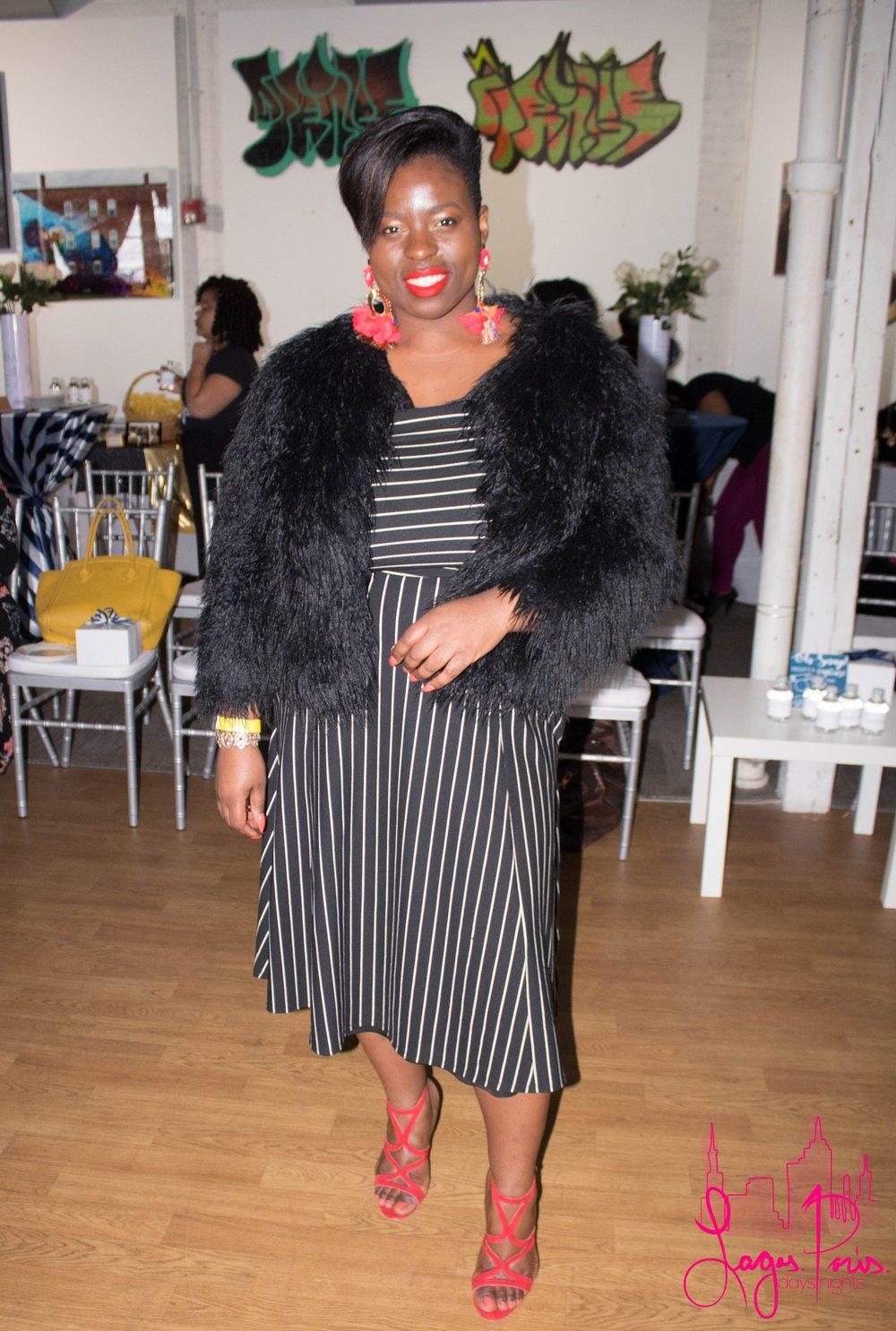 Vanessa Jean of the Massachusetts Haitian Chamber of Commerce.