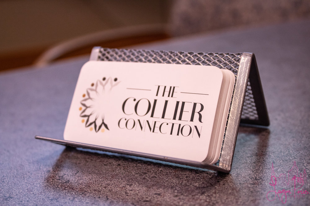 The Collier Connection - available for all your connecting needs!