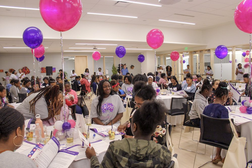 Saturday, June 9th - the Beautiful Me Girls Conference is ready to begin!