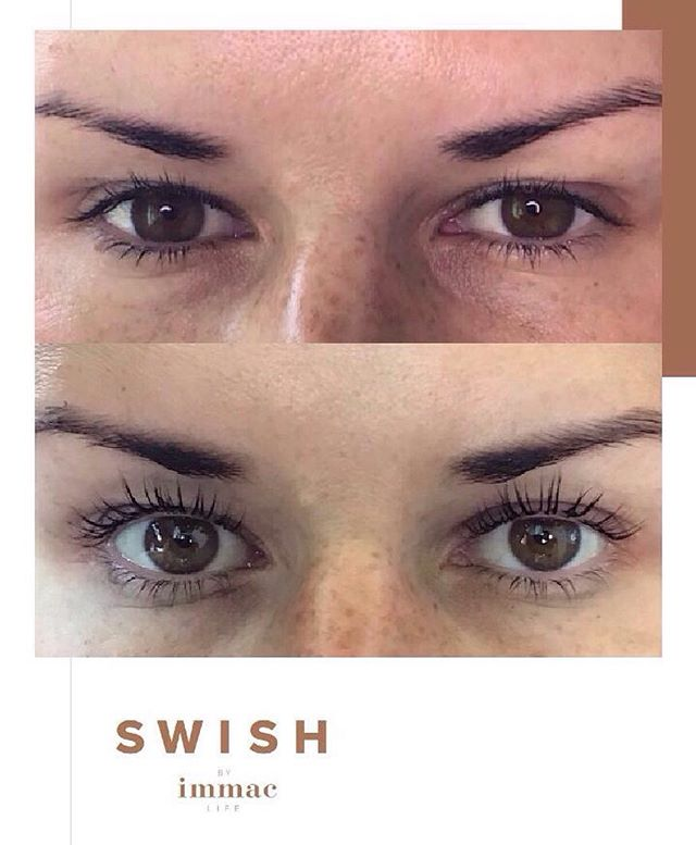 Amazing results from our @salonsystem lash lifts 😍 Now available at SWISH and are definitely proving to be popular!. • • • #lashes #lashlift #lusciouslashes #nomascara #lashliftandtint #lashenvy #swishabudhabi #treatyourself