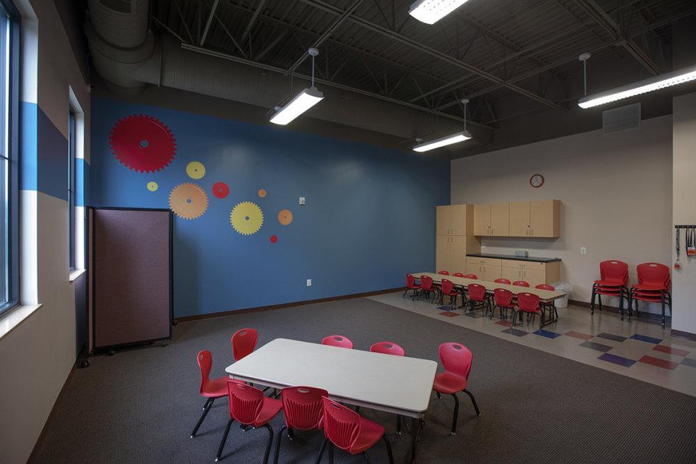 Learning spaces aren't just for academic institutions. Often times, churches and community centers include classroom and meeting space in their programming. The key to these multipurpose spaces is flexibility.