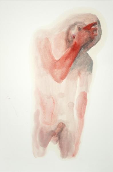 55 x 40 cm (2) Huile et crayon sur papier 2018.jpg