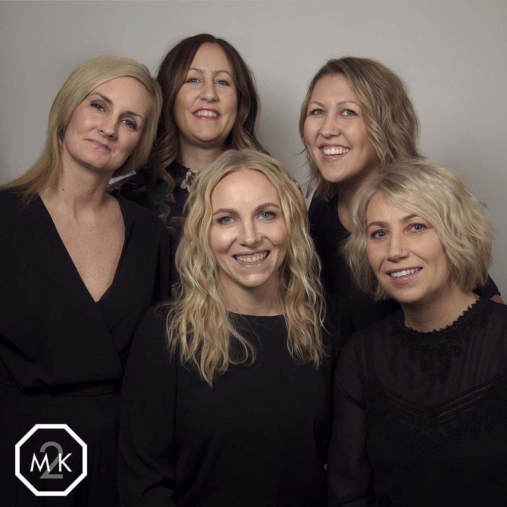 Hår, Makeup og foto M2K - Jentekveld