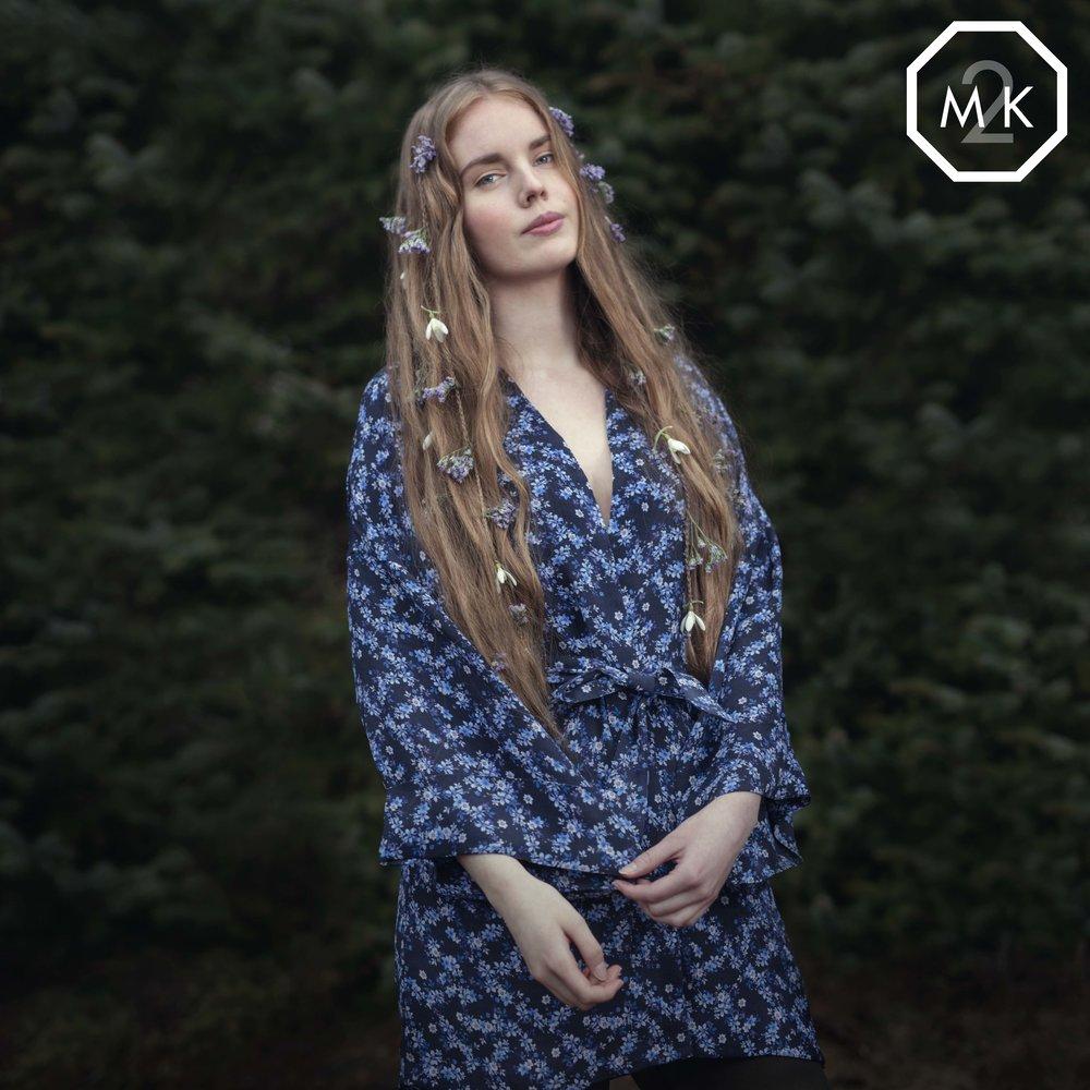 Hår, makeup og foto av M2K, klær lånt av Fifty/50