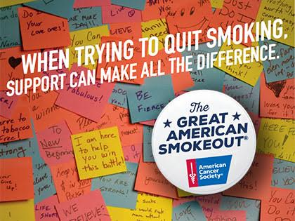 Great American Smokeout Banner