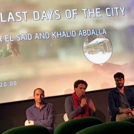 Thanks for having us @tynesidecinema and #andrewsimpson ! We had a great time at the q+a after the screening. #khalidabdalla and @tamerelsaid37 stayed to share some stories about the film. Looking forward to the upcoming screenings in UK! Check out our website for more screening dates 👉link in bio #ukrelease #newcastle #london #liverpool #manchester #daysofthecity
