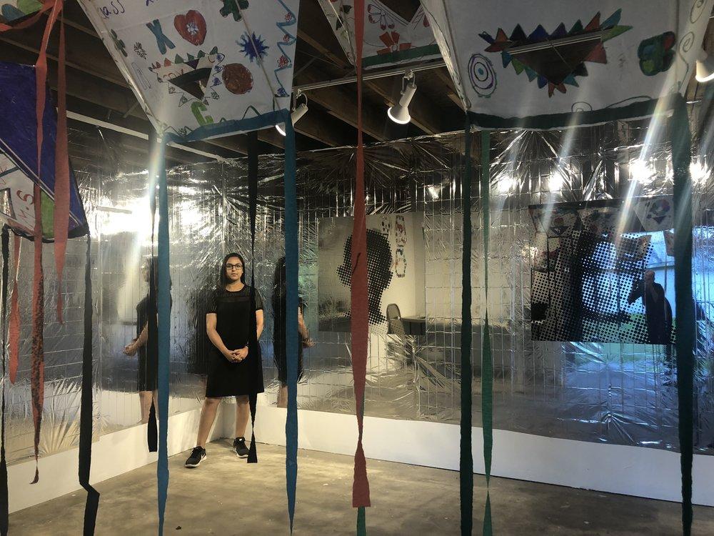 Mahwish Chishty in her studio
