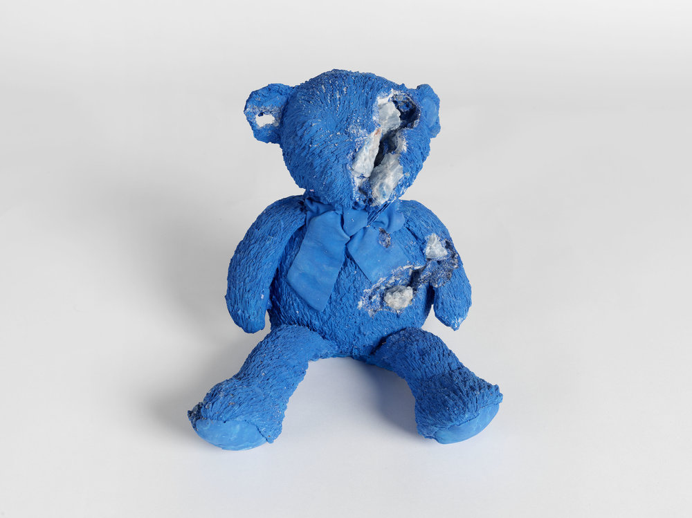 Teddy bear small blue calcite daniel arsham thecheapjerseys Gallery