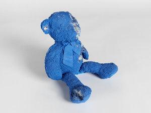 Teddy bear small blue calcite daniel arsham teddy bear smallblue calcitehd2g altavistaventures Images