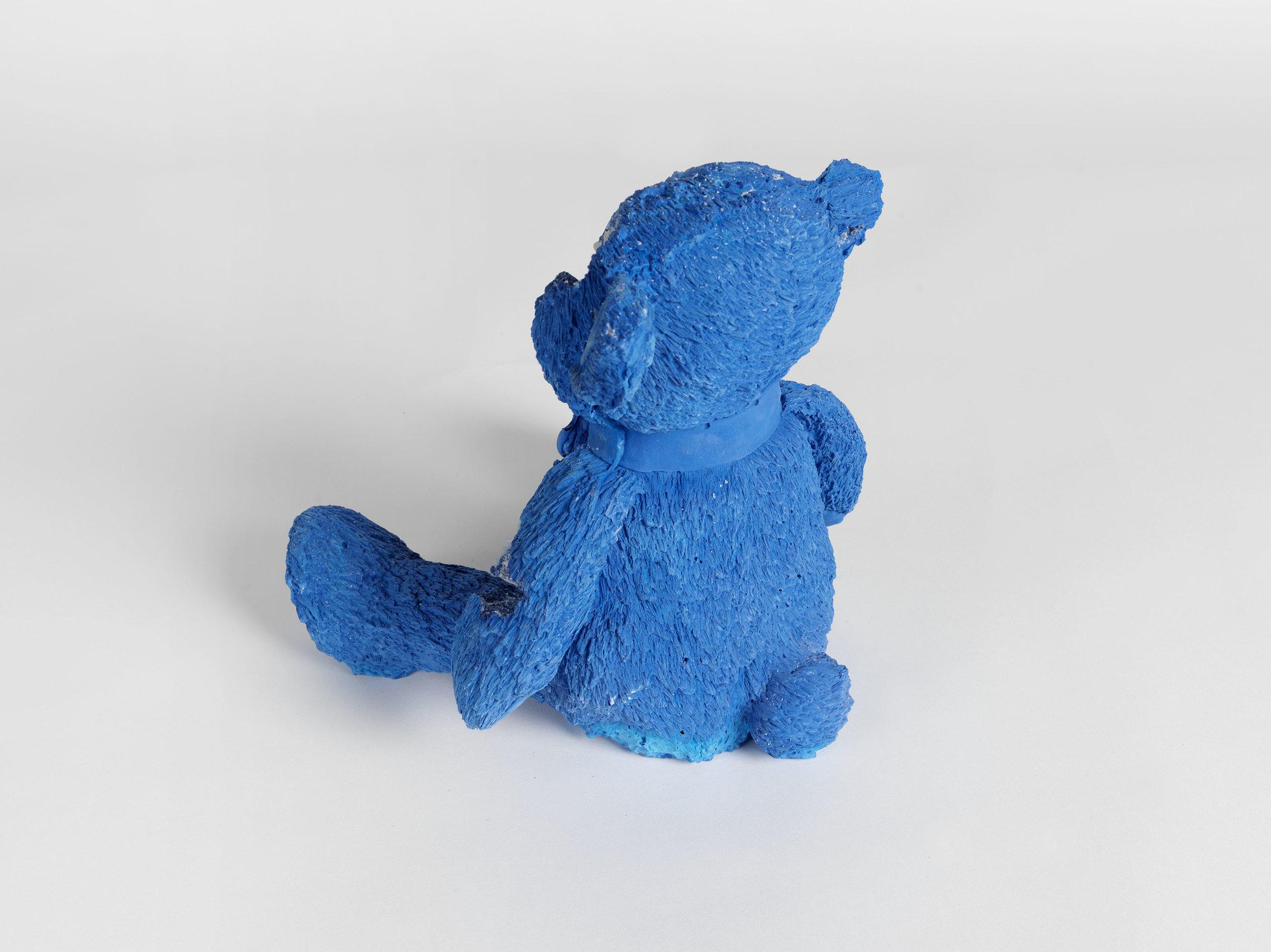 Teddy bear small blue calcite daniel arsham teddy bear smallblue calcitehd4g thecheapjerseys Choice Image