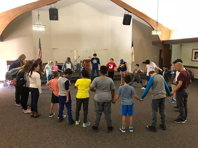 Pre-Camp Prayer Circle #MVkids #WC2018