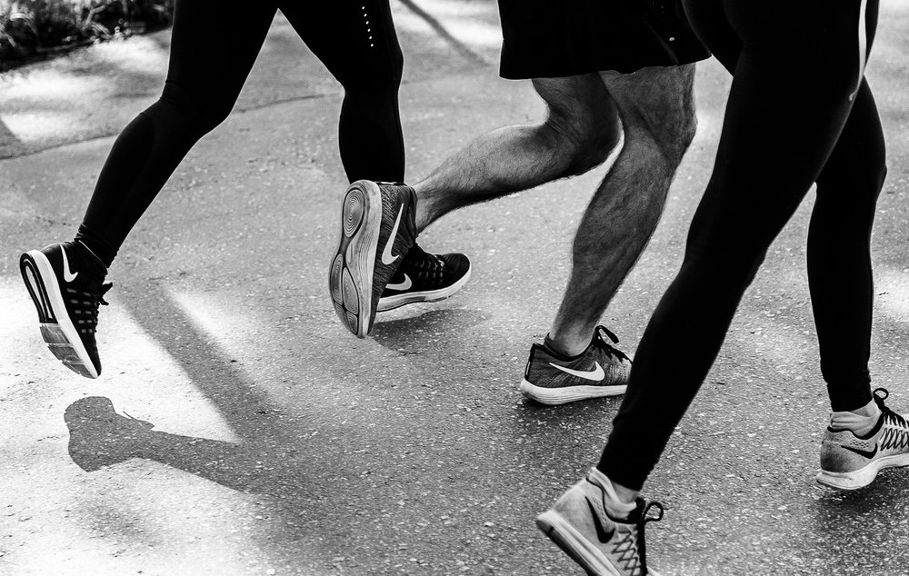 The  Nike+  app brings together users who share an interest in running