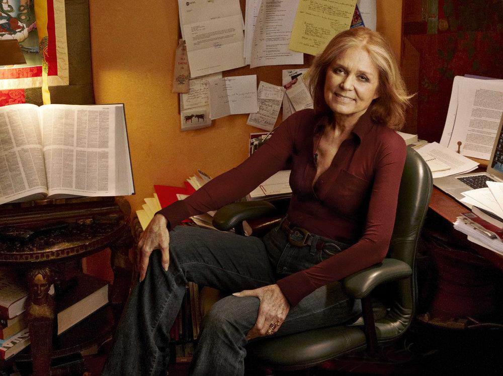 Portrait de Gloria Steinem par Annie Leibovitz  Editions Penguin Random House