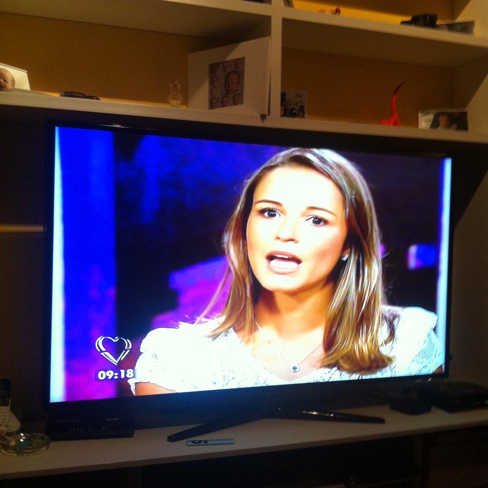Na tv!