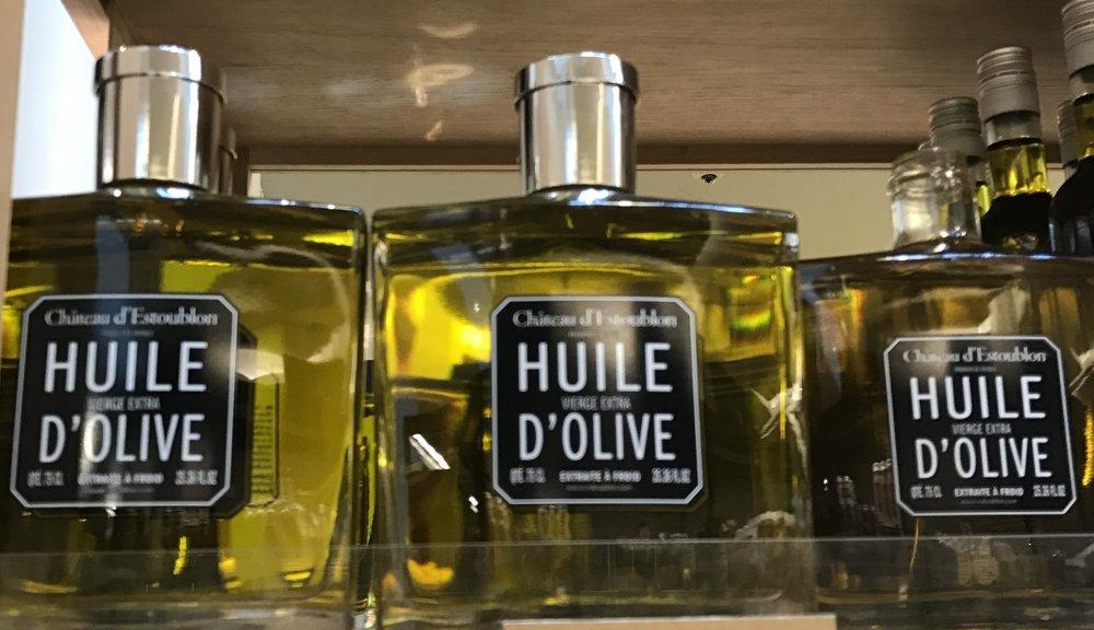 Azeites que parecem perfumes - La Grande Epicerie de Paris