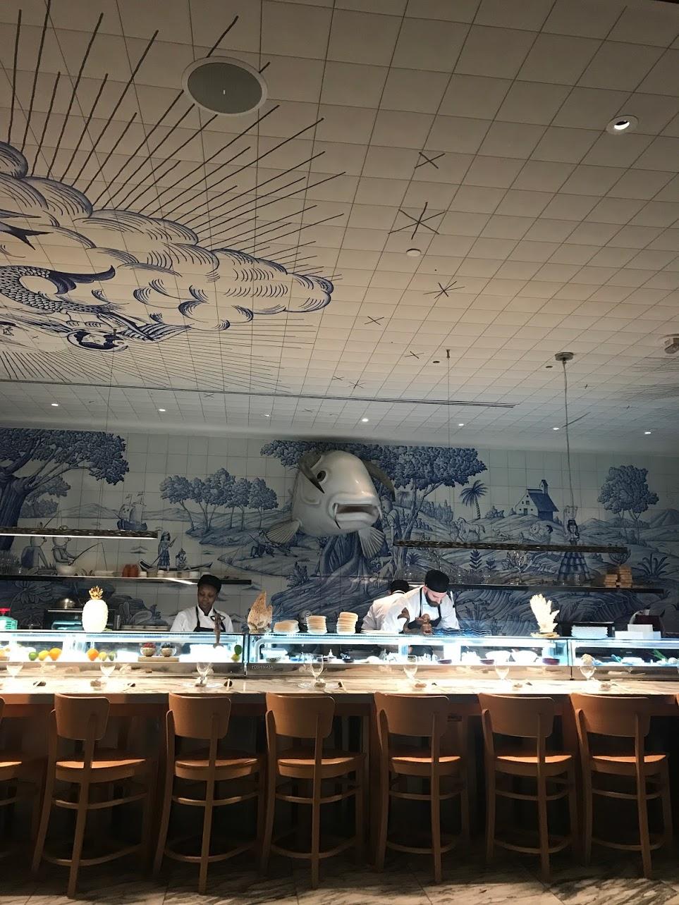 o restaurante bazaar mar