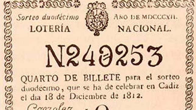 historia de la lotería de navidad