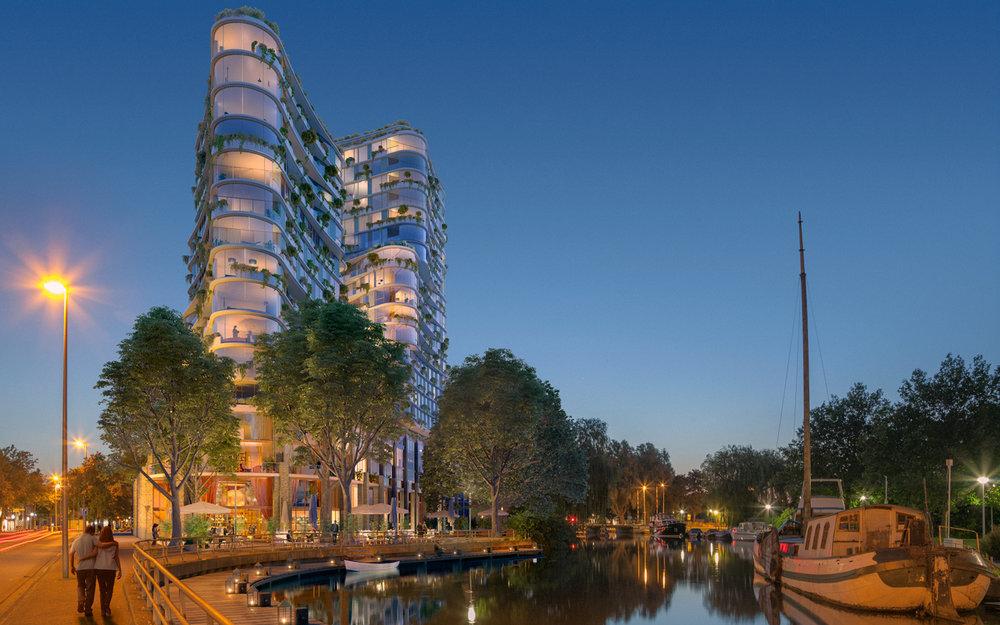 Purmerend kiest voor het plan van DOK Architecten
