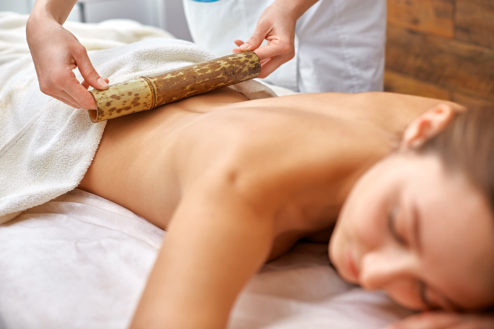 Warm Bamboo Fusion Massage at LivingWell