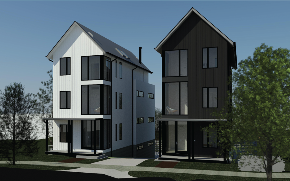 A pre-construction rendering