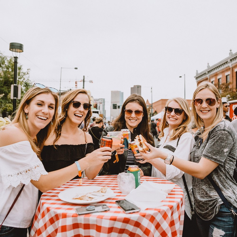 DRINKS - You're going to need something to wash down all that grub, so we invited some of our favorite craft beer, booze, and wine makers to sling drinks throughout the fest. Find an array of tasty bevvies at each stop of Truck Stop!