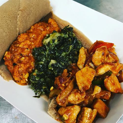 The Ethipian Food Truck - Ethiopian Cuisinee