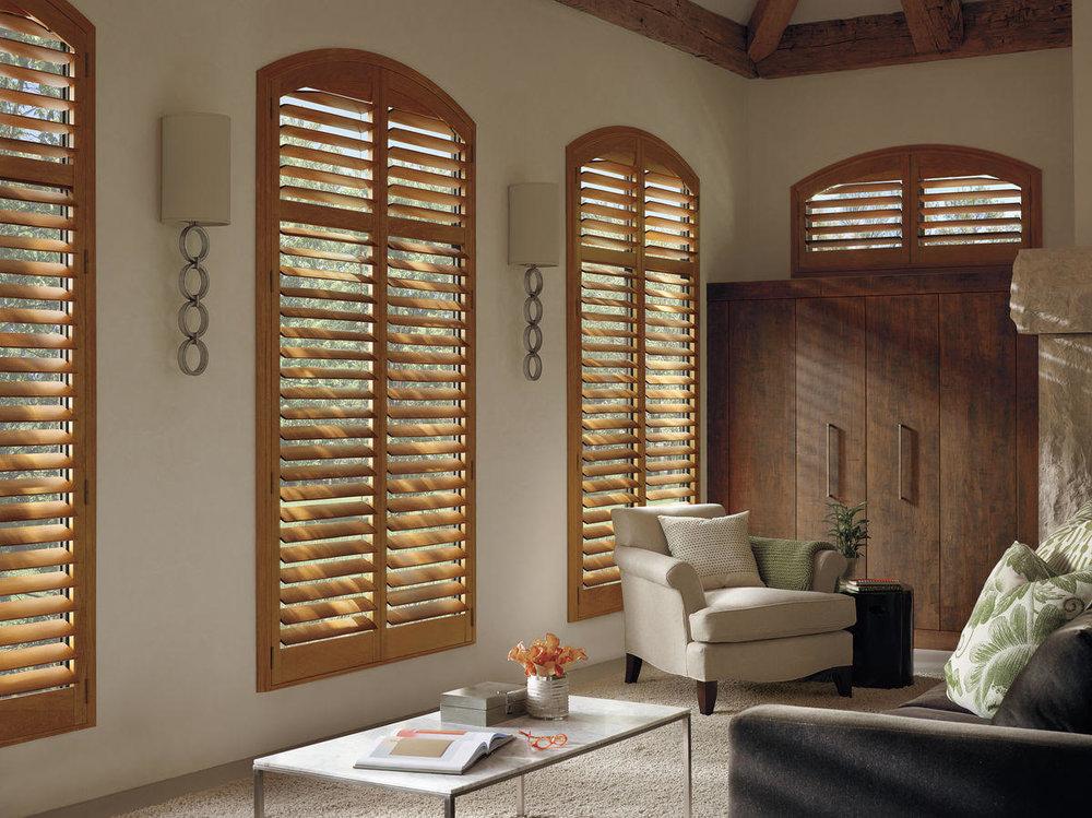 Lauras Draperies and Blinds Little Rock Arkansas Silhouettes Shades Custom Bedding Curtains shutters home design 2.jpg