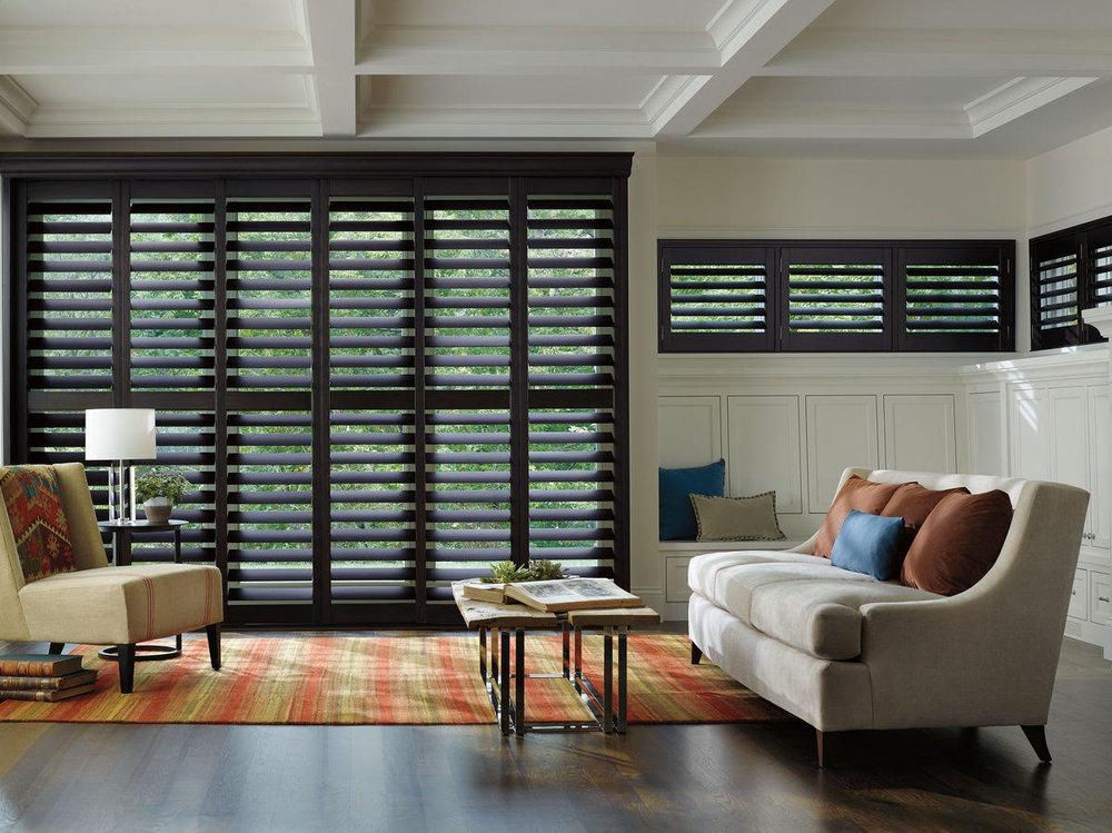 Lauras Draperies and Blinds Little Rock Arkansas Silhouettes Shades Custom Bedding Curtains shutters home design.jpg