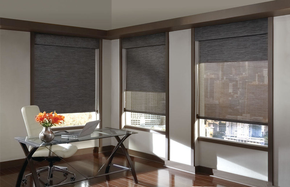 Roller Shades Lauras Draperies and Blinds