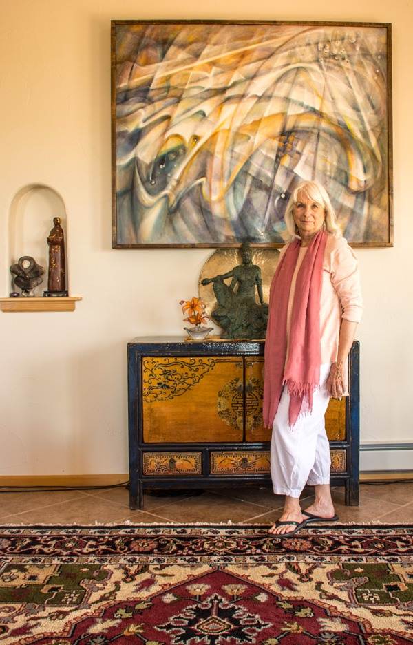 Sharon Landrith, Clear Light Sangha, July 2017 Photo Paul Kemnitzer