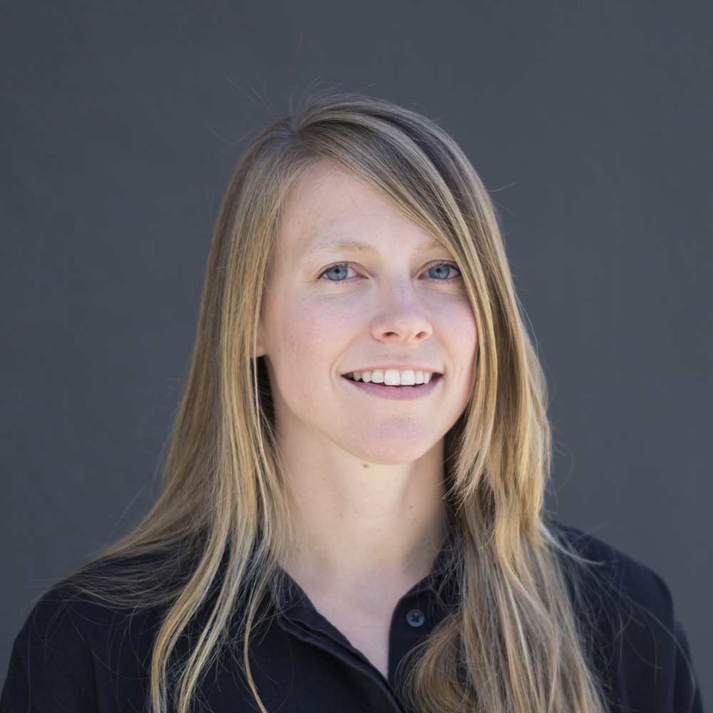 "Rebecca Ewing  DESIGNER  Rebecca was born in Oakland and cares deeply about the public landscapes of her city. She's intrigued by the vibrant complexities of urban space and has been spearheading the development of our office's collective ""creative soup""."