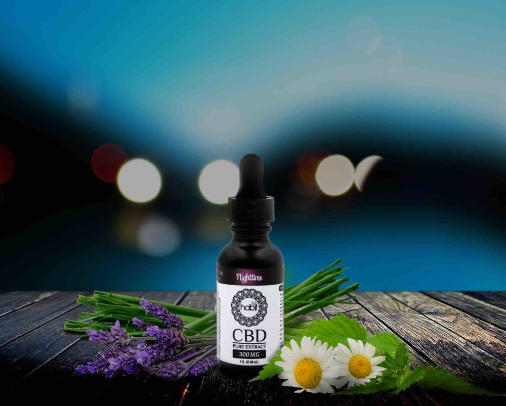 CALMING & RELAXING -  This calming CBD oil blend includes essential oils of Lemongrass, Lavender and Chamomile. Amongst many benefits, the essential oils in this blend each contain constituents known to provide sedative properties.