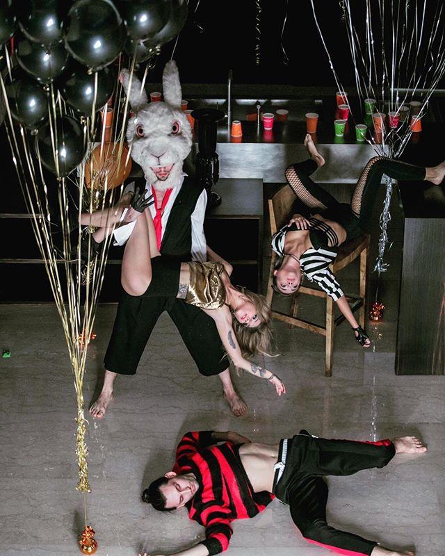 Party 'ALYSSA IN WONDERLAND ' style 🤪