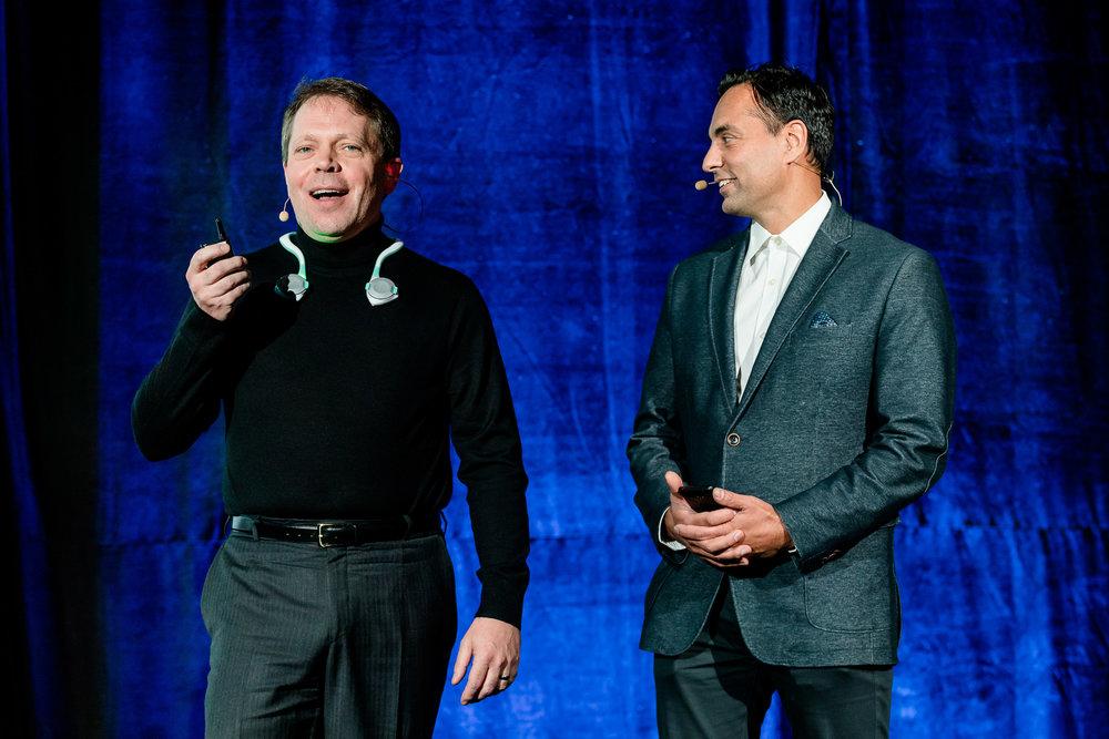 Robert Kaul and Dr. Sonny Kohli, Co-Founders Cloud DX