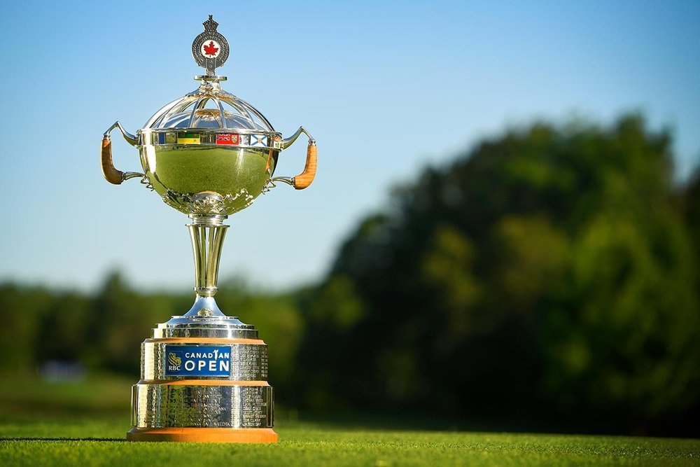 RBC Canadian Open Trophy