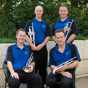 The Trumpet Section - Phil Snedecor, Mathew Harding, Scott Sabo, Chris Gekker.