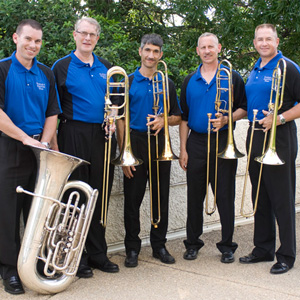 Low Brass Section - David Brown, Paul Schultz, David Sciannella, Bryan Bourne and Charles Casey.