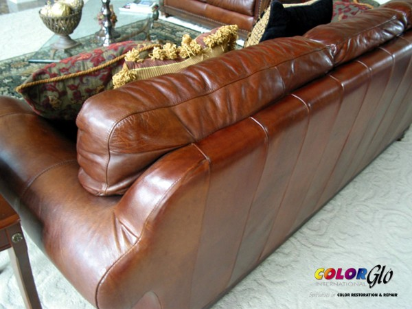 Leather repair for furniture