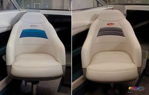 Marine REPAIR & RESTORATION   Vinyl, Plastic and Leather.