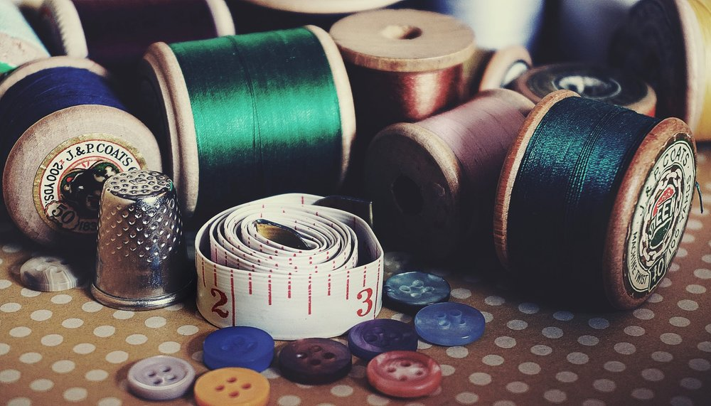 Photo of crafting supplies